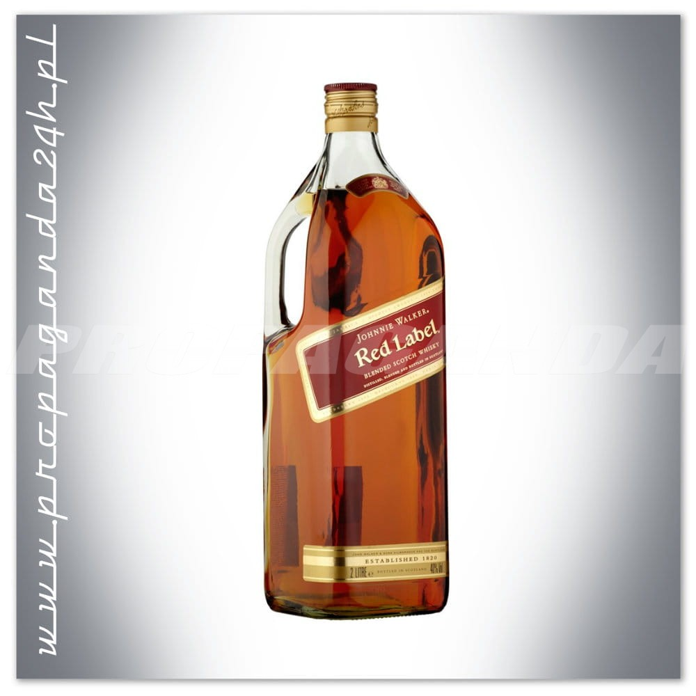 This is a picture of Monster Whisky Johnnie Walker Red Label 3 Litros