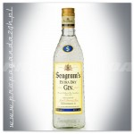 SEAGRAMS GIN 0,7L EXTRA DRY