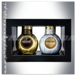 MOZART DUO CHOCOLATE CREAM 2*0,05L / GOLD + WHITE (MINI)
