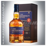 THE IRISHMAN 12YO WHISKY SINGLE MALT 0,7L + KARTONIK