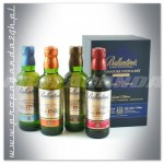 BALLANTINES 17YO SIGNATURE DISTILLERY COLLECTION 4X0,2L