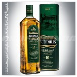 BUSHMILLS 10YO WHISKY SINGLE MALT 0,7L + TUBA
