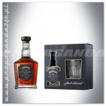 JACK DANIEL'S SINGLE BARREL 0,7L + SZKLANKA
