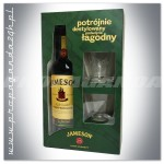 JAMESON IRISH WHISKEY 0,7L + 2 SZKLANKI
