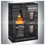 JACK DANIEL'S OLD NO.7 WHISKEY 0,7L + 2 SZKLANKI