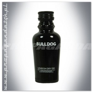 BULLDOG LONDON DRY GIN 0,05L (MINI)