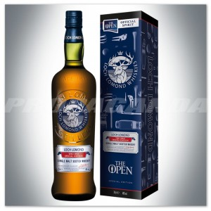 LOCH LOMOND THE OPEN SPECIAL EDITION WHISKY SINGLE MALT 0,7L + KARTONIK