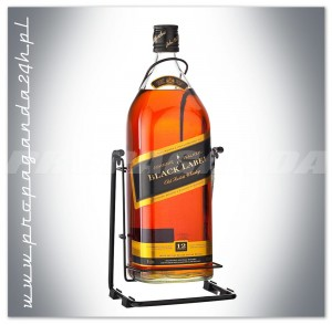 JOHNNIE WALKER BLACK LABEL WHISKY 4,5L + KOŁYSKA