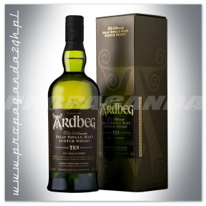 ARDBEG 10YO THE ULTIMATE WHISKY SINGLE MALT 0,7L + KARTON