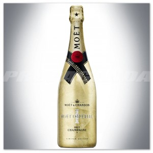 MOET&CHANDON BRUT IMPERIAL 0,75L LIMITED EDITION GOLDEN BOTTLE