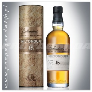 BALLANTINES THE MILTONDUFF 15YO WHISKY SINGLE MALT