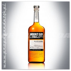 MOUNT GAY BLACK BARREL BARBADOS RUM EST.1703 0,7L