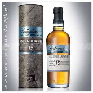 BALLANTINES THE GLENBURGIE 15YO WHISKY SINGLE MALT