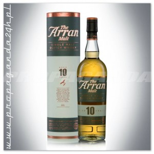 THE ARRAN MALT 10YO 0,7L + TUBA