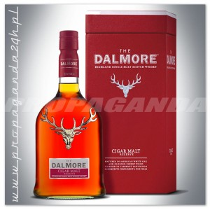 THE DALMORE CIGAR MALT RESERVE WHISKY 0,7L + KARTONIK