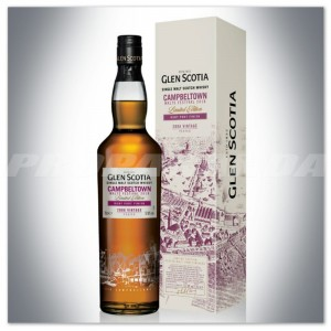 GLEN SCOTIA 2008 VINTAGE WHISKY SINGLE MALT CASK STRENGHT 0,7L + KARTONIK