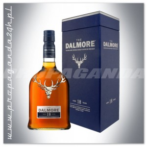 THE DALMORE 18YO WHISKY SINGLE MALT 0,7L + KARTONIK