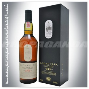 LAGAVULIN 16YO WHISKY SINGLE MALT 0,7L + KARTONIK