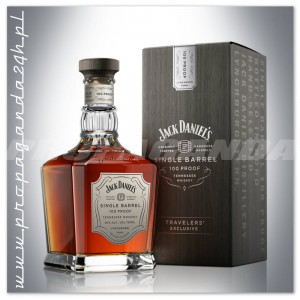 JACK DANIEL'S SINGLE BARREL 100 PROOF TRAVELERS' EXCLUSIVE