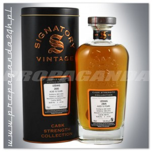 LEDAIG 2005 10YO SIGNATORY SINGLE MALT 0,7L + TUBA