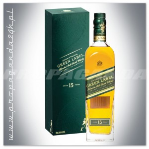 JOHNNIE WALKER GREEN LABEL WHISKY 0,7L + KARTONIK