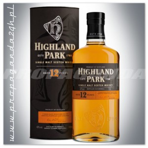 HIGHLAND PARK 12YO WHISKY SINGLE MALT 0,7L + OPAKOWANIE