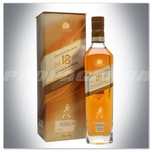JOHNNIE WALKER ULTIMATE 18YO 0,7L + KARTON