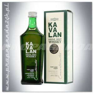 KAVALAN CONCERTMASTER WHISKY SINGLE MALT 0,2L + KARTONIK