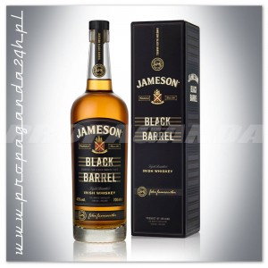 JAMESON BLACK BARREL IRISH WHISKEY  0,7L + KARTON