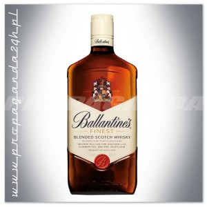 BALLANTINES FINEST BLENDED WHISKY 1,0L