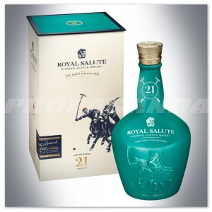 ROYAL SALUTE 21YO THE POLO COLLECTION 0,7L + OPAKOWANIE