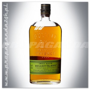 BULLEIT RYE SMALL BATCH BOURBON - FRONTIER WHISKEY 0,7L