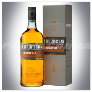 AUCHENTOSHAN AMERICAM OAK SINGLE MALT WHISKY 0,7L + KARTONIK