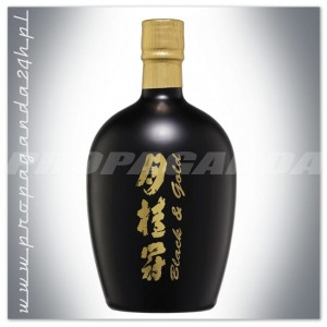 SAKE GEKKEIKAN BLACK AND GOLD 0,75L
