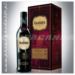 GLENFIDDICH 19YO AGE OF DISCOVERY RED WINE CASK WHISKY SINGLE MALT 0,7L