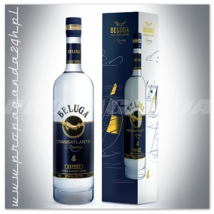 BELUGA TRANSATLANTIC RACING RUSSIAN VODKA 0,7L + KARTON