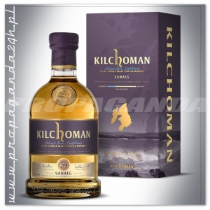 KILCHOMAN SANAIG SINGLE MALT WHISKY 0,7L + KARTONIK