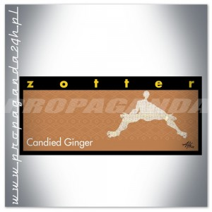 CZEKOLADA Zotter HAND SCOOPED CANDIED GINGER 70G