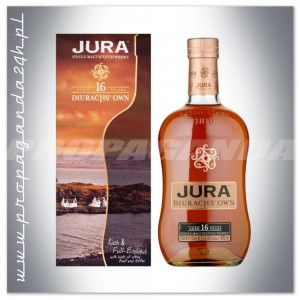 JURA 16YO DIURACHS' OWN WHISKY SINGLE MALT 0,7L + KARTONIK
