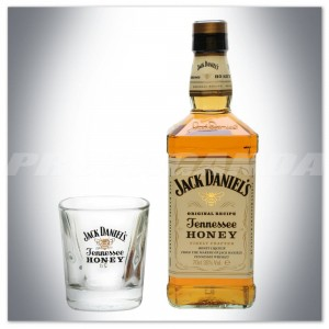 JACK DANIEL'S HONEY 0,7L + SZKLANKA