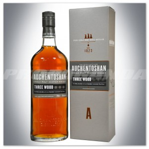 AUCHENTOSHAN THREE WOOD SINGLE MALT 0,7L + KARTONIK