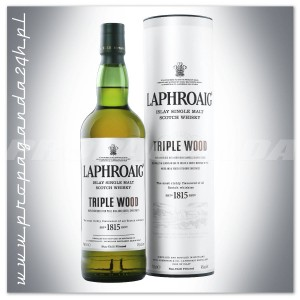 LAPHROAIG TRIPLE WOOD WHISKY SINGLE MALT 0,7L + TUBA