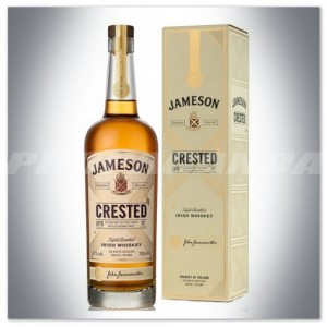JAMESON CRESTED IRISH WHISKEY 0,7L