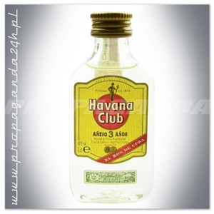 HAVANA CLUB ANEJO 3YO RUM 0,05L (MINI)