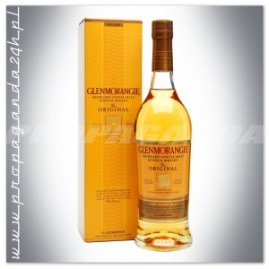 GLENMORANGIE 10YO THE ORIGINAL WHISKY 0,5L + KARTON