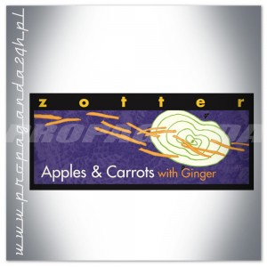 CZEKOLADA Zotter HAND SCOOPED APPLES & CARROTS WITH GINGER