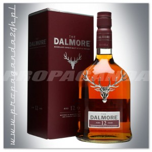 THE DALMORE 12YO WHISKY SINGLE MALT 0,7L + KARTONIK