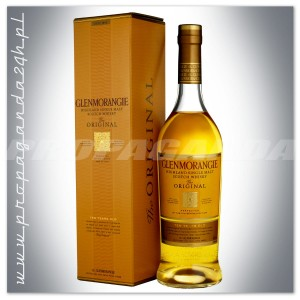 GLENMORANGIE 10YO THE ORIGINAL WHISKY 0,7L + KARTON