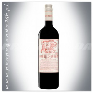 BARRELS AND DRUMS MERLOT WINO BEZALKOHOLOWE 0,75L
