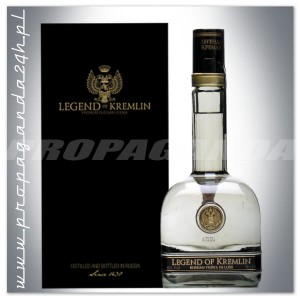 LEGEND OF KREMLIN PREMIUM RUSSIAN VODKA 0,7L + KARTONIK